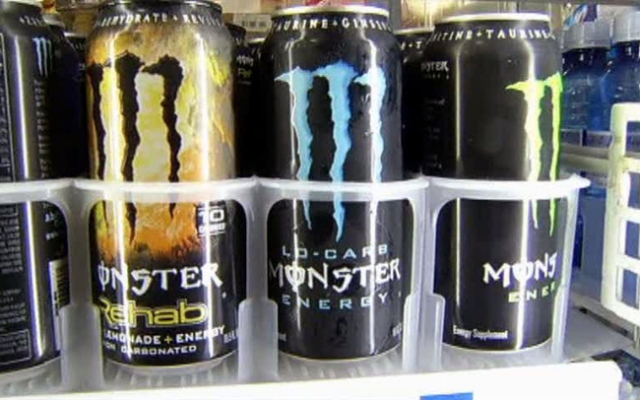 Monster Energy is taking on a local nutritionist and Sen. Blumenthal is supporting the nutritionist.
