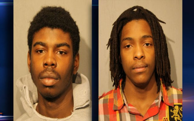 Michaeil Ward, 18 (L), and Kenneth Williams, 20, are charged in the shooting death of Hadiya Pendleton.