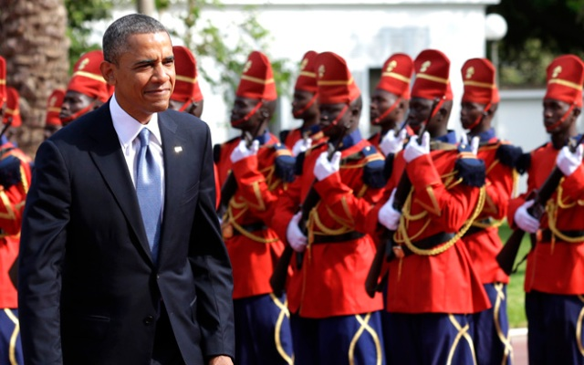 President Barack Obama began his first extended tour of Africa in Senegal on Thursday. Obama will also be making stops in South Africa and Tanzania on his week-long trip, which is designed to deepen economic cooperation with the continent. Click to see more photos from Obama's Africa trip.