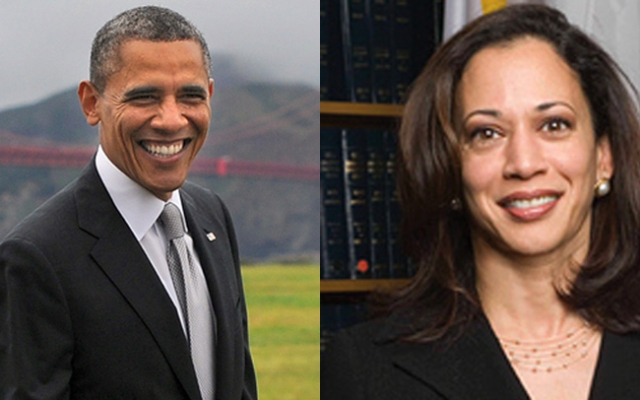 President Barack Obama also called California's Attorney General Kamala Harris brilliant, dedicated and tough.