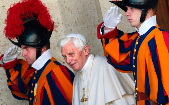 Pope Benedict held eight official titles during his time as the leader of the Catholic Church, and none of them were
