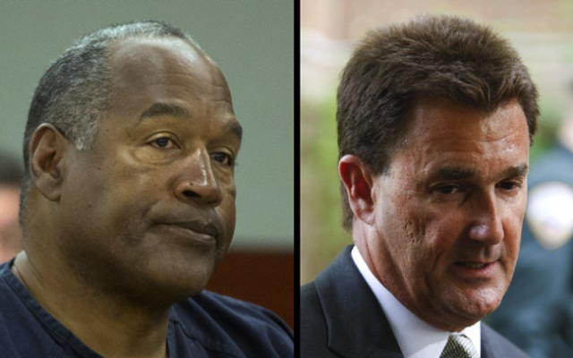 OJ Simpson (left) claims that his former attorney Yale Galanter (right) mishandled the trial that led to his robbery-kidnapping conviction and prison sentence.