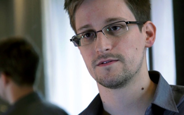 This photo provided by The Guardian Newspaper in London shows National Security Agency leaker Edward Snowden in Hong Kong. Snowden left the Chinese city after charges were filed against him in the United States under the Espionage Act, and he now is believed to be in Russia.