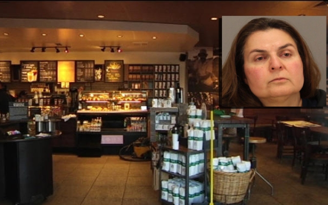 A Starbucks customer and a barista are credited for helping police nab a suspect.