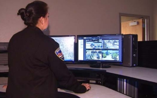 The Banning Police Department added a dozen surveillance cameras to its police force.