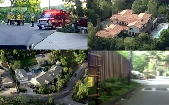 Several false 911 calls have led to police responses at celebrity homes.