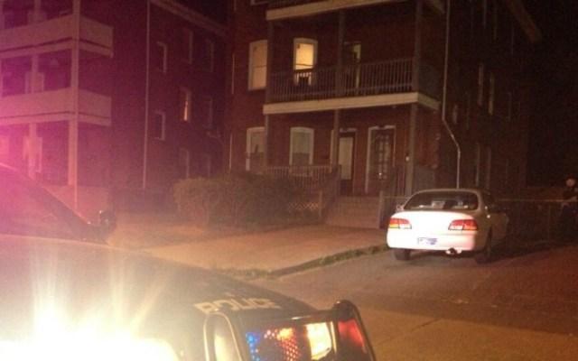 The scene at 792 Capitol Ave. Hartford.