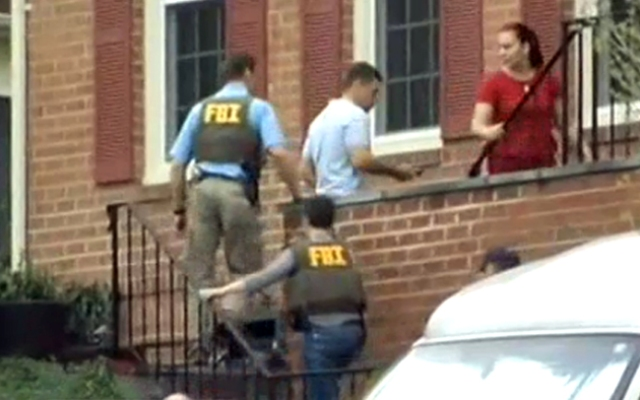 Authorities went to the Montgomery County home of the uncle of the Boston Marathon bombing suspects Friday morning to talk to him about his nephews.The uncle, Ruslan Tsarni, lives on a cul-de-sac in Montgomery Village, Md.