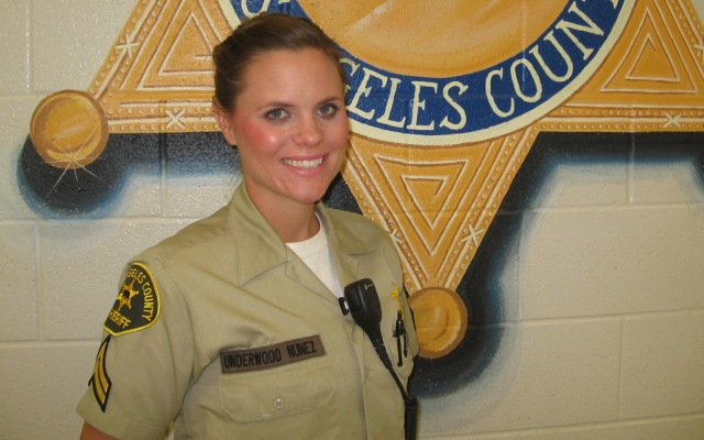 Los Angeles County Sheriff's Deputy Jenna Underwood Nunez saved a 17-year-old boy from drowning on April 27, 2013, in Silverwood Lake. She was 5.5 months pregnant and off duty at the time of the rescue.