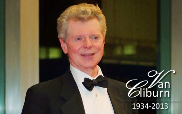 Legendary pianist Van Cliburn died at his Fort Worth home Feb. 27, 2013.