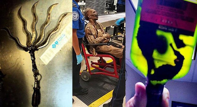TSA Reveals its 'Top 10 Most Unusual Finds' of 2016