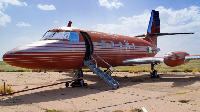 Elvis Presley's Private Jet Auctioned After Sitting 35 Years