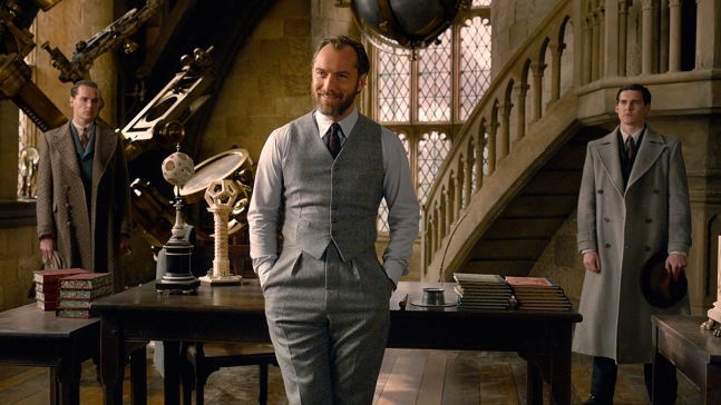 With J.K. Rowling's Help, Jude Law Builds a New Dumbledore