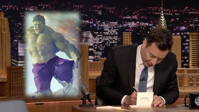 """""""Tonight Show"""" Thank You Notes"""
