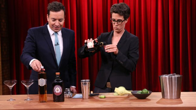 'Tonight': Mixing Cocktails with Rachel Maddow