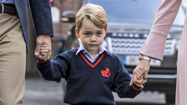 Royal Family Marks George's 5th Birthday With New Photo