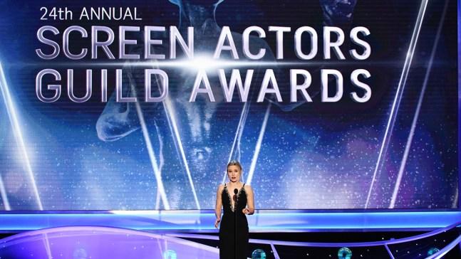 Kristen Bell Kicks Off Female-Led SAG Awards