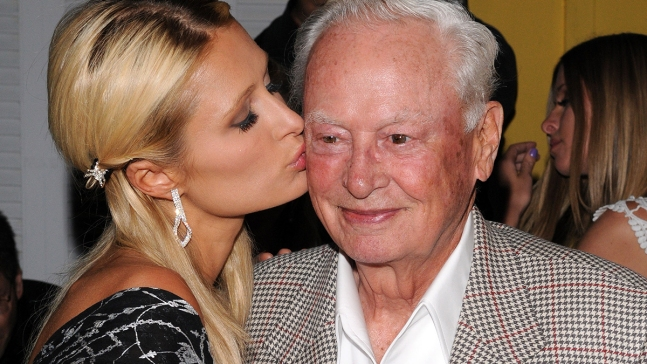 Paris Hilton Mourns Death of Grandfather Barron Hilton