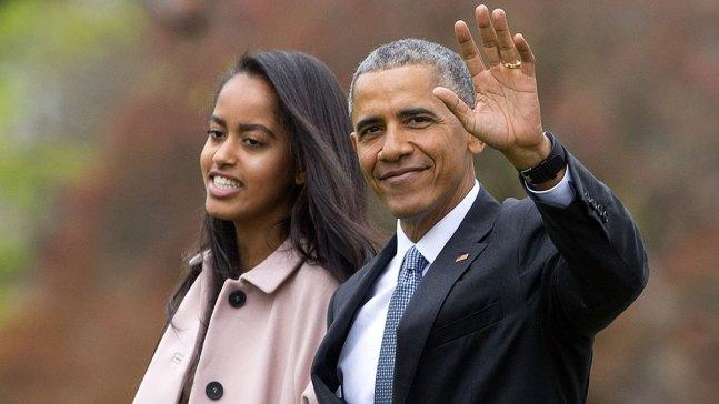Malia Obama Spotted at Lollapalooza