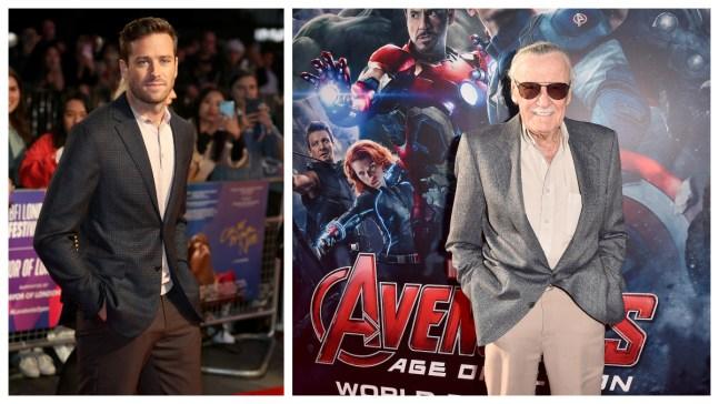 Hammer Under Fire for Critique of Stan Lee Selfie Tributes