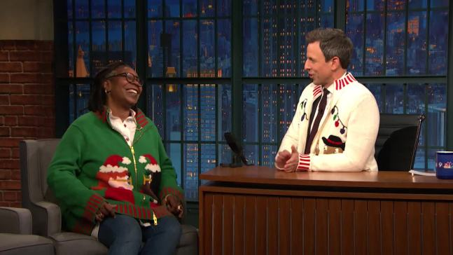 'Late Night': Whoopi Goldberg Shares Her Holiday Memories