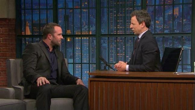 'Late Night': Sullivan Stapleton's Bummed About 'Blindspot'