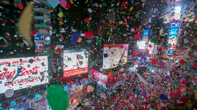 How Much Times Square's Restaurants Charge on New Year's Eve