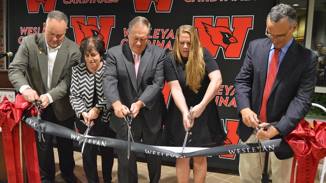 Wesleyan University Dedicates Belichick Plaza