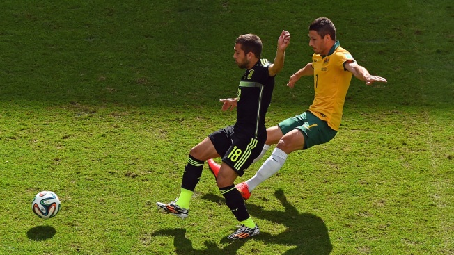 Spain Salvages Pride With 3-0 Win Over Australia