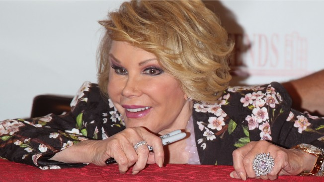 Joan Rivers Walks Out of CNN Interview