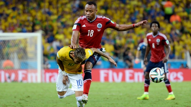 Colombia Defender Zuniga Apologizes to Neymar for Tackle
