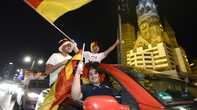 Germany's World Cup Party Gets Underway at Home