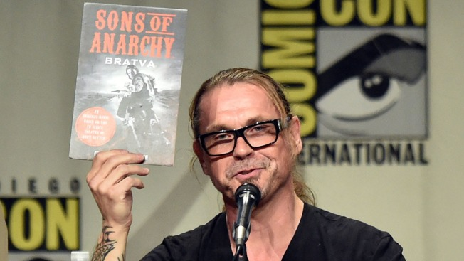 """""""Sons of Anarchy"""" Book Announced at Comic-Con"""