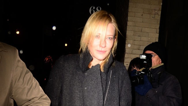 Cate Blanchett and Justin Theroux Visit Philip Seymour Hoffman's Partner, Mimi O'Donnell, at Home in New York