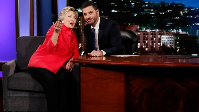 Clinton to Jimmy Kimmel: Trump Health Allegations a 'Wacky Strategy'