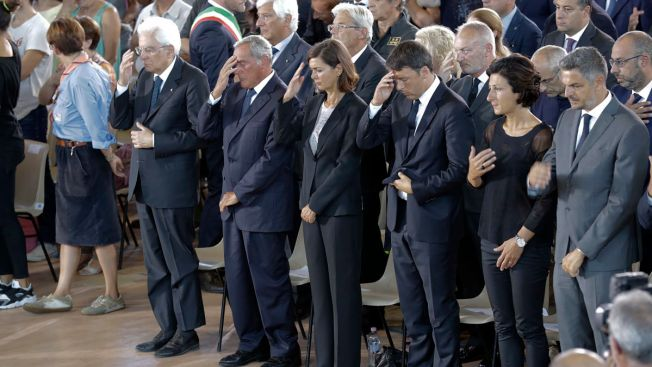 Italian President Visits Quake Town as Death Toll Rises