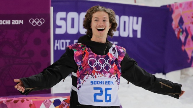 """I-Pod"" Revels in Golden Olympic Halfpipe Run"