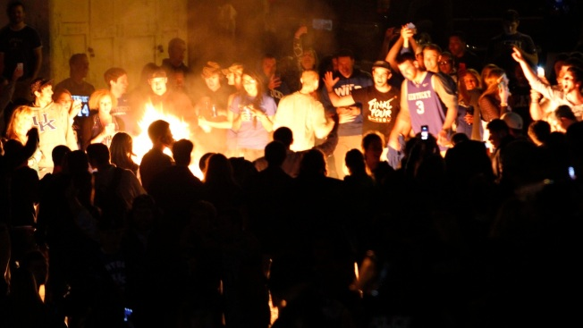 Official: Couch Fires, Arrests After Kentucky NCAA Loss