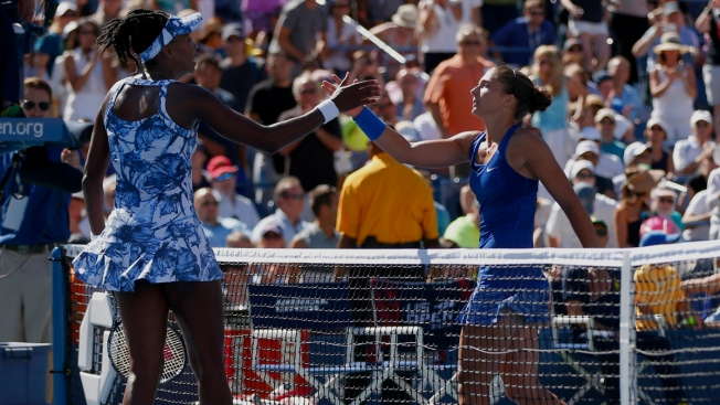 Errani's Serve Tops Venus Williams at U.S. Open