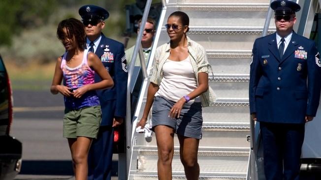 Bulge Michelle obama