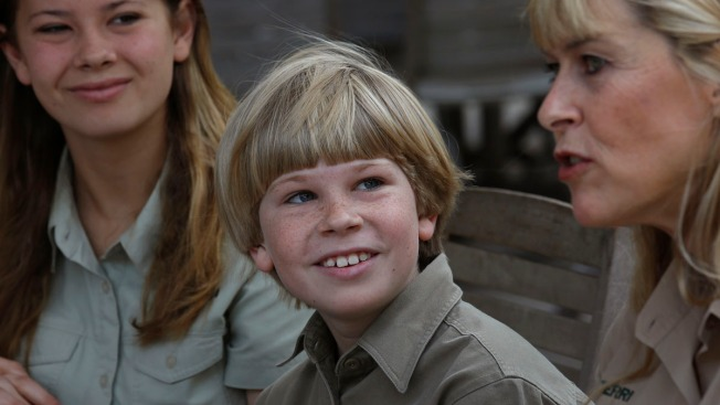 "Son to Follow in TV Steps of ""Crocodile Hunter"""
