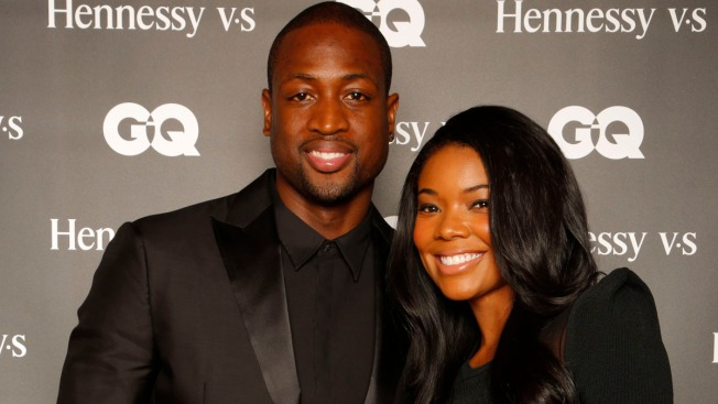 Wade Fathered Baby With Woman Before Proposing to Union