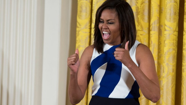 Michelle Obama Joins Snapchat, Teases 'Carpool Karaoke' Appearance