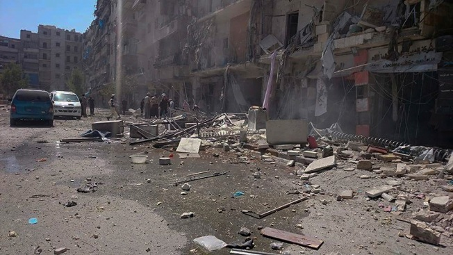 Aid Convoy Attack as Syria Declares Cease-Fire Over