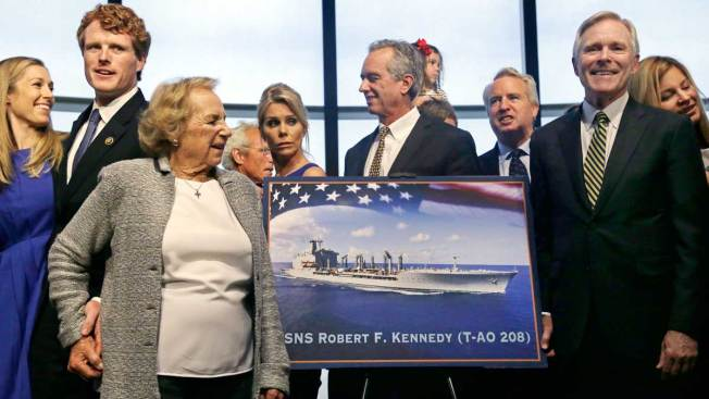 US Navy to Name Ship After Late Sen. Robert F. Kennedy