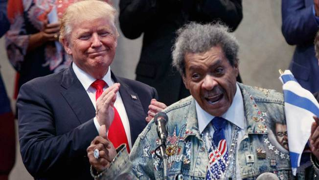 Don King Uses N-Word While Introducing Donald Trump