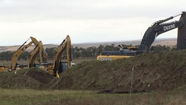 Dakota Access Pipeline Work Resumes Near Site of Protests