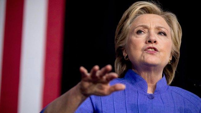 Clinton's Battleground Map Lead Narrows