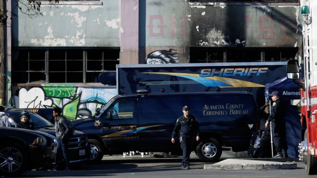 Deadly Fire Kills 9 at Oakland Warehouse