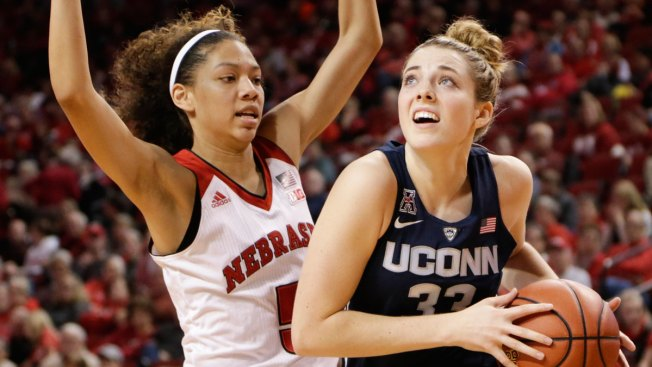 No. 1 UConn Rolls Over Nebraska